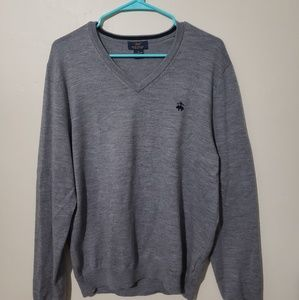 Brooks Brothers long sleeve sweater/shirt size M